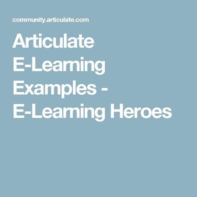 32 best award winning elearning examples images on pinterest articulate e learning examples e learning heroes yadclub Gallery