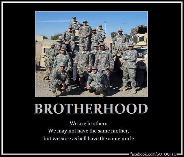 Brotherhood Quotes: Military Brotherhood Quotes. QuotesGram