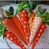 carrots!: Carrot Decor, Fabric Carrot, Crafty Crafts, Craft Ideas