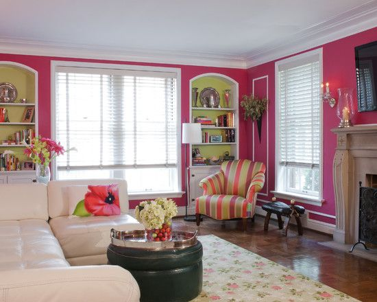 15 best breast cancer awareness displays images on for Pumpkin spice paint living room