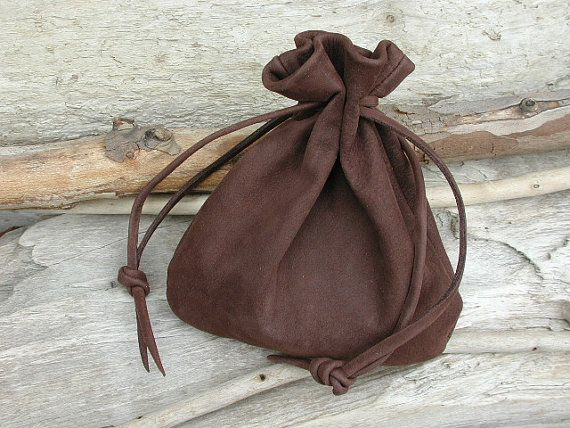 210 best handmade leather drawstring leather pouch bags images on ...