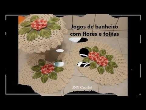 ▶ Jogos de banheiro de crochê - YouTube