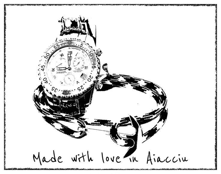 Les 152 meilleures images du tableau made with love in aiacciu com sur pinterest ajaccio - Bracelet couple ancre ...