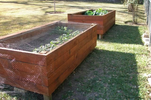 Making Raised Garden Beds With Legs