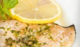 Kip met citroen, kappertjes en broccoli