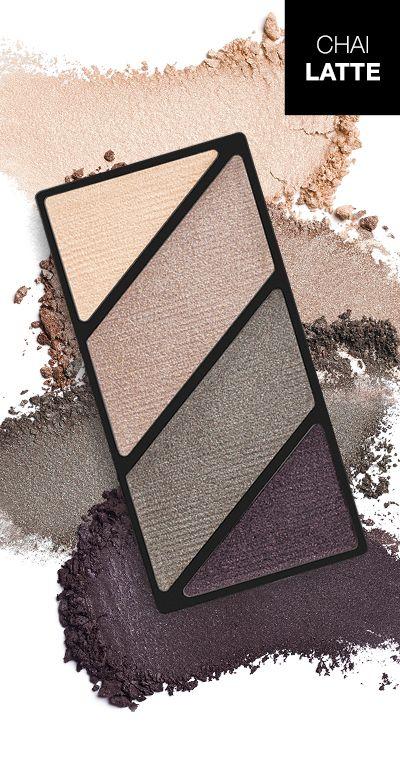 Crea un look de ojos clásico con la NUEVA Paleta de Sombras de Ojos Minerales Mary Kay® Chai Latte.