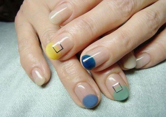 nail art futurista - Modices