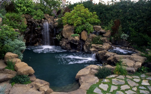 10 best images about ultimate swimming pools on pinterest beach entrance pool waterfalls and for Natural swimming pools los angeles