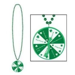 Bulk Buys Beads with St Patrick Spinner Medallion - Case of 108 #ChristmasDecor #BulkBuys