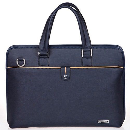 Navy Briefcase for Men Business Bags Mens Tote Bag Messenger Bag CHANCHAN 8822