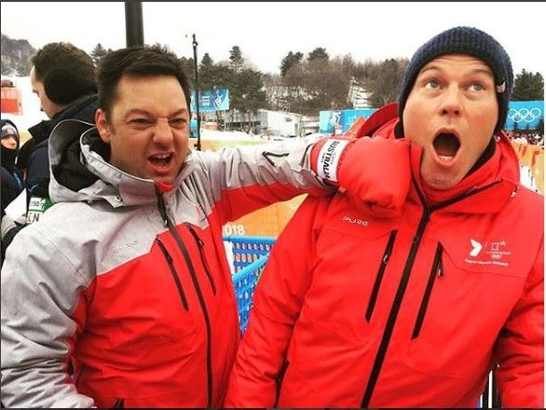 It's definitely fun and games in PyeongChang! #uhoh #funandgames #punch #7network #proudsupplier #pyeongchang2018 #puresnow #puremountain #pureriderz #7olympics #reporting #ausolympicteam #cold #winter #fun