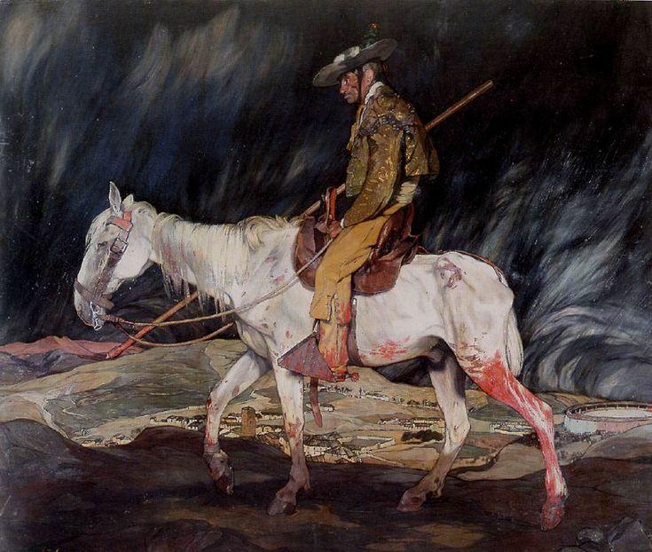 Ignacio Zuloaga y Zabaleta (España 1870 – 1945). la victima de la fiesta 1910