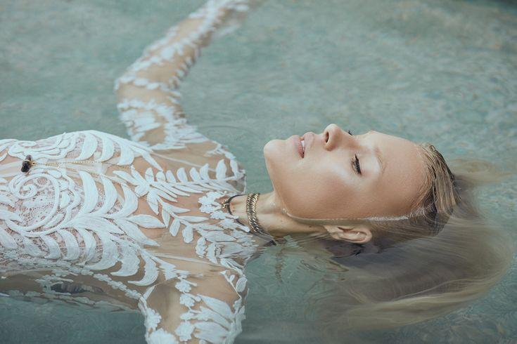Rue De Seine LOVE SPELL 2016 Campaign photography: Zoey Grossman Model: Britt Maren #ruedeseine #lovespell #avrilgown