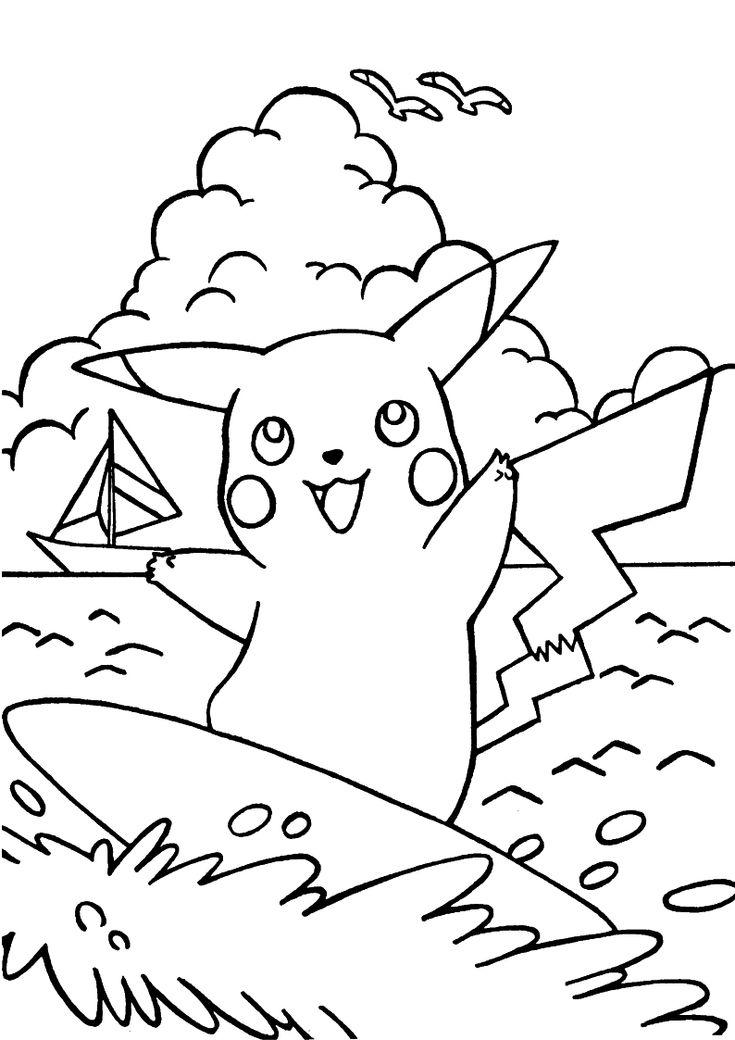 26 best Colorir imagens do Pikachu - Pokemon Go images on ...