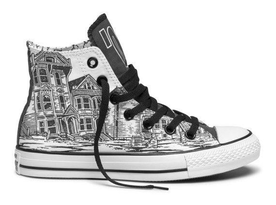 Shoe Biz x Converse Chuck Taylor All Star San Francisco Moments Collection