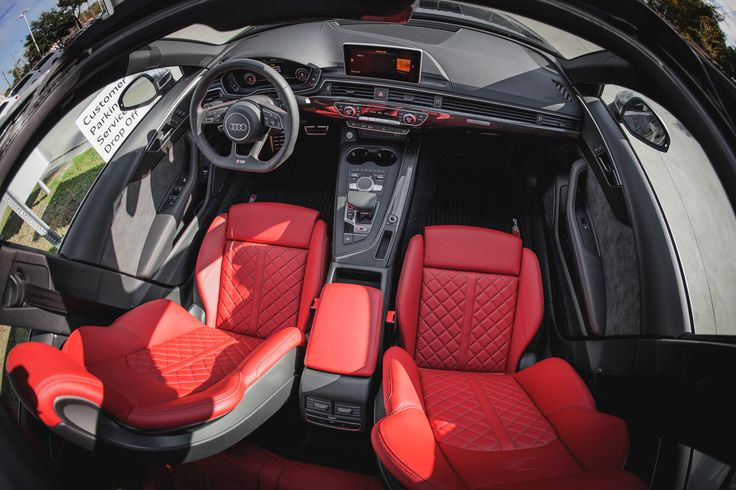 Tesla Model S Custom >> Bringing the fire with the available Magma Red Nappa leather interior in the Audi S4 ! | Audi s4 ...