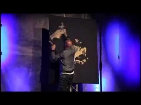 Incredible Christian Speed Painting Artist David Garibaldi