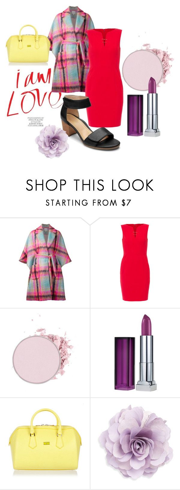 """""""Summer Date Night"""" by katy-atchison on Polyvore featuring Delpozo, Elie Tahari, Maybelline, Patrizia Pepe and Cara"""