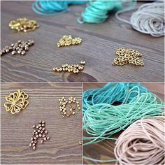 Wir zeigen Euch in einfachen Schritten wie Ihr Makramee DIY Armbänder selbst m #Schmuck #SelberMachen #Fimo #Diy #Aufbewahrung #Basteln #Ringe