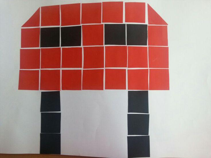 Blokjesboek brievenbus