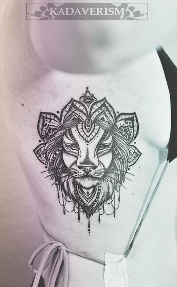 lion tattoo designs (16):