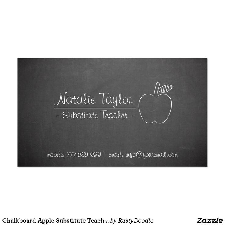 2148 best Teacher Business Cards images on Pinterest | Teacher ...