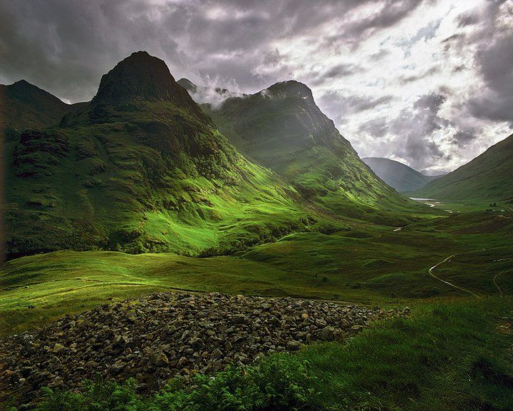 Glen Coe, Scotland - Possibly the most beautiful place in Scotland.