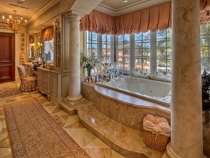 Mediterranean Estate: Dreams Houses, Decor Style, Strong Lauderdal, Luxury Bathroom, Architecture Interiors, Dreams Bathroom, Master Bath, Bathroom Ideas, Bathroom Decor