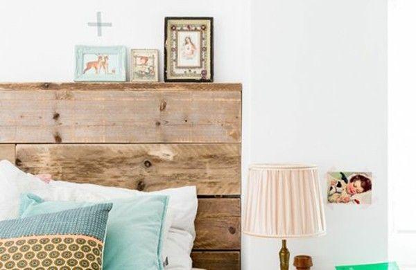 Europalette Als Kopfteil   22 Nachhaltige DIY Betten Ideen