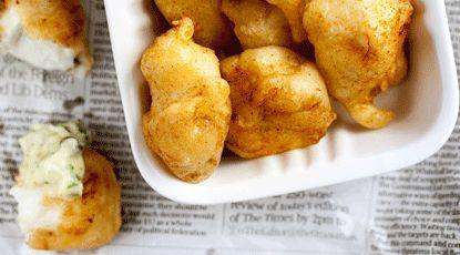 Gefrituurde vis met remoulade | Foodies