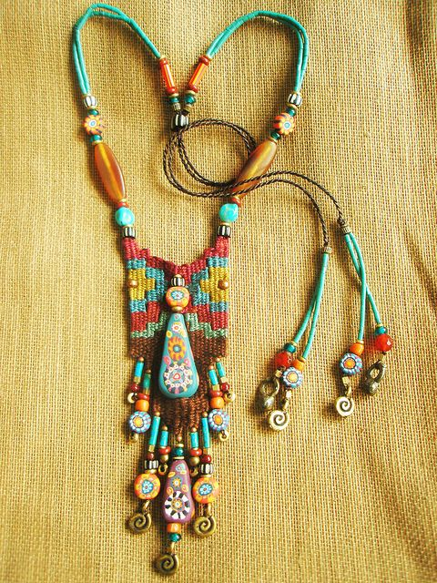 Tribal Boho Necklace | Bohemian Jewelry