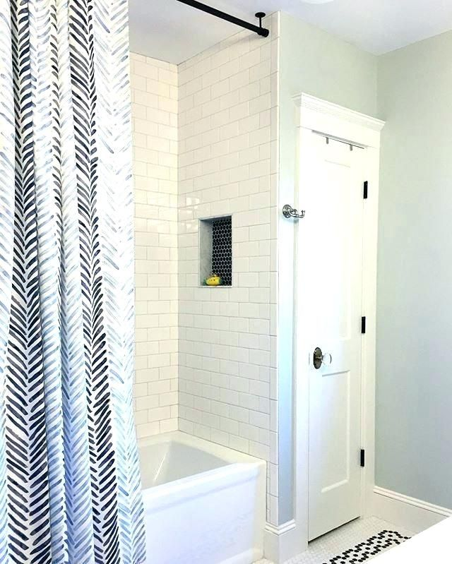 Hanging Rods From Ceiling Standard Height To Hang Shower Curtain