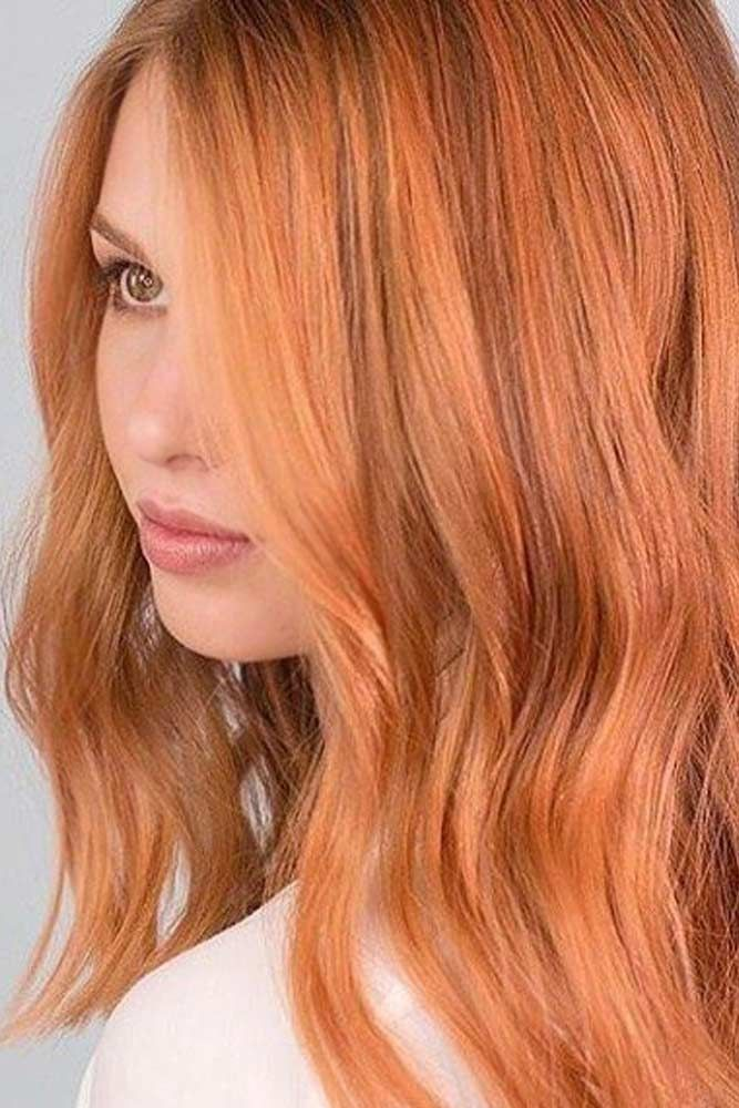 Amber Color Inspiration For Stylish Ladies Thick Hair Styles Ombre Hair Color Hair Color