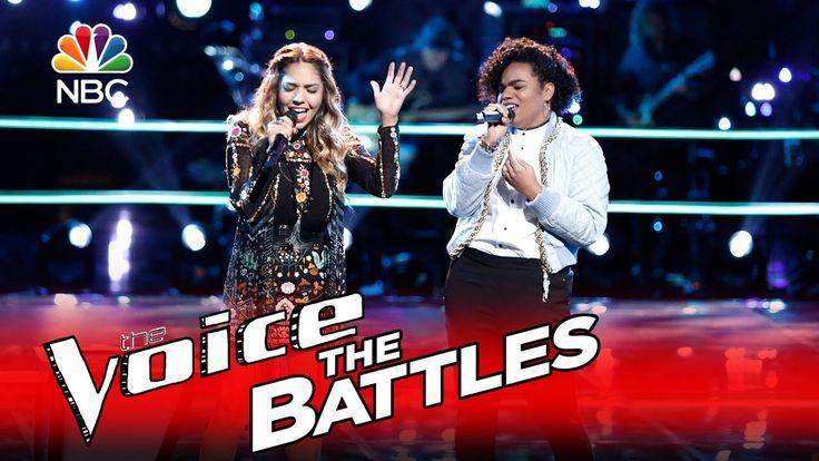 """The Voice 2016 Battle - Lauren Diaz vs. Wé McDonald: """"Maybe"""""""