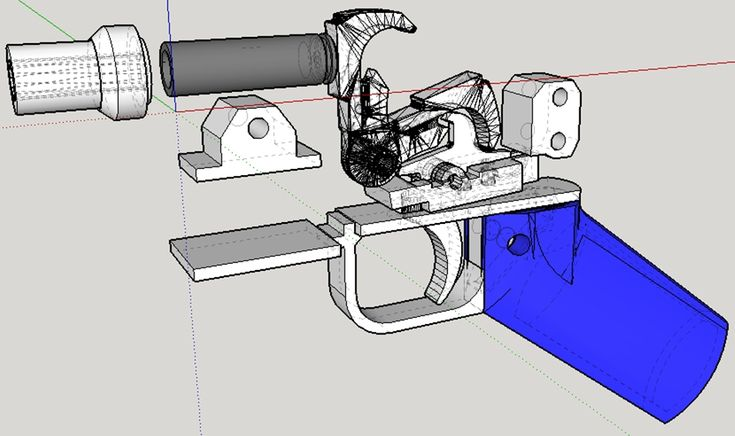 The rise of the 3-D printer has made it possible for you to build your own firearms (and pretty much anything else you can imagine) from the privacy and comfort of your own home. You can get your h...-Has link to Grizzly 22lr single shot rifle