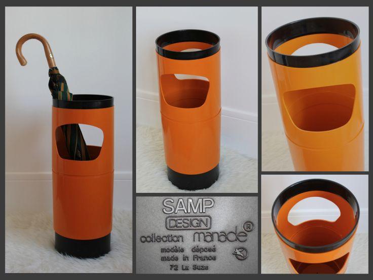 Porte-parapluie vintage Manade Samp Design