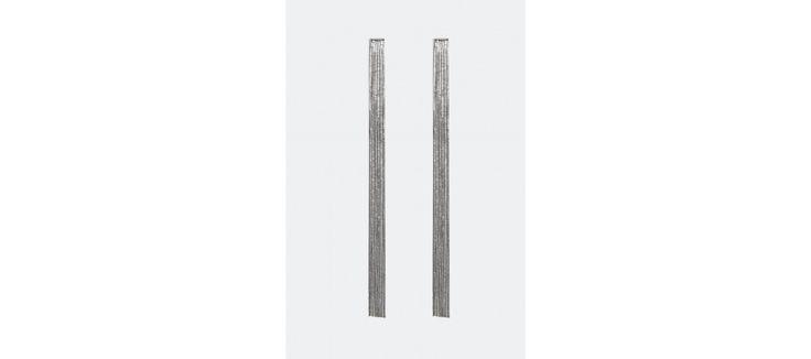 Örhängen med hängande rader