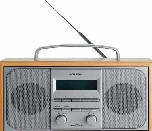 Bush  DAB/ FM STEREO RADIO IN A WOODEN CABINET Get all of your favourite stations with this DAB radio from Bush. With a dual alarm, snooze and sleep timer, it can also wake you up on time. All thats left to do is swi (Barcode EAN = 5060423170884) http://www.comparestoreprices.co.uk/december-2016-week-1-b/bush-dab-fm-stereo-radio-in-a-wooden-cabinet.asp