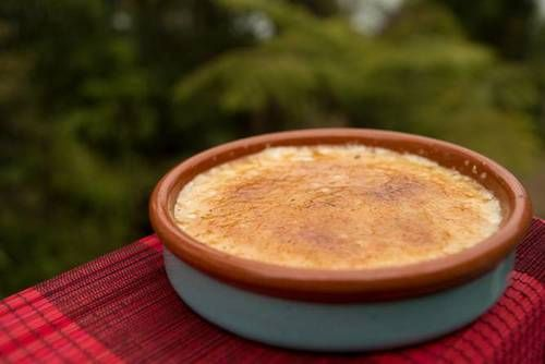 This sweet treat is an Asian twist on the creme brulee