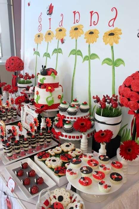 Ladybug Birthday Party Birthday Party Ideas | Photo 1 of 27