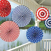 You could totally do these yourself! They are such cute fourth of July Decor!