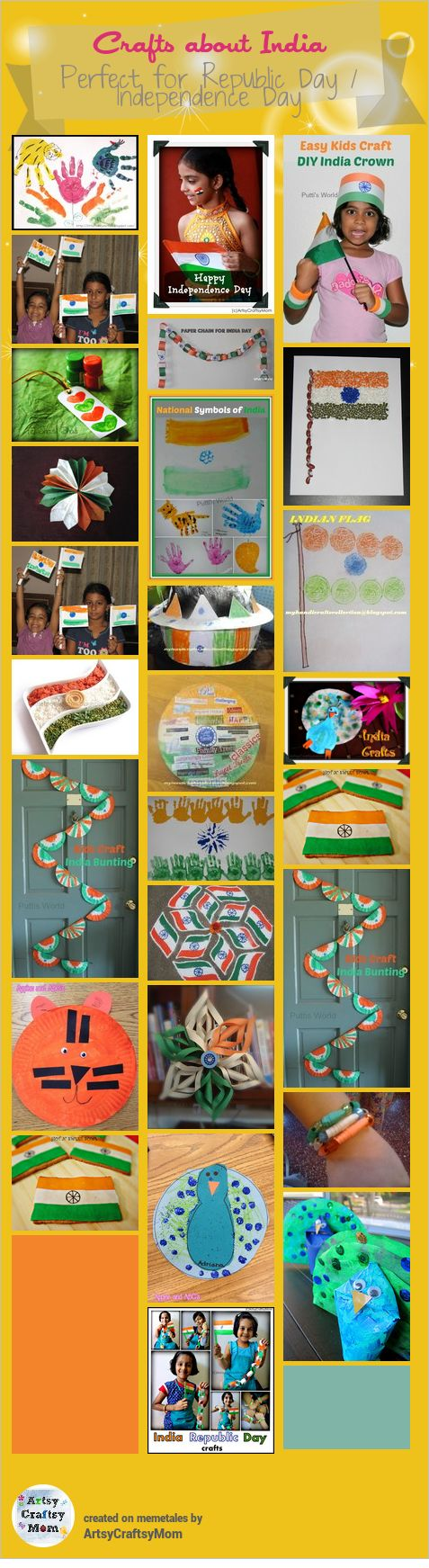 India Republic day Crafts