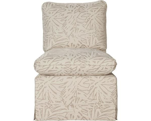The ED Ellen DeGeneres Crafted By Thomasville Buell Chair Features A  Special Feathery Pillow Seat That