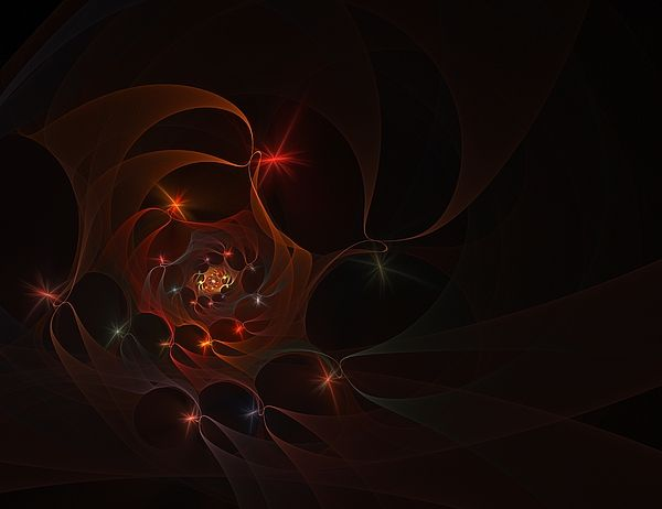 Fractal Digital Art - Labyrinth by Elena Ivanova IvEA    #ElenaIvanovaIvEAFineArtDesign #Print #Decor #Interior #Fractal #Abstraction