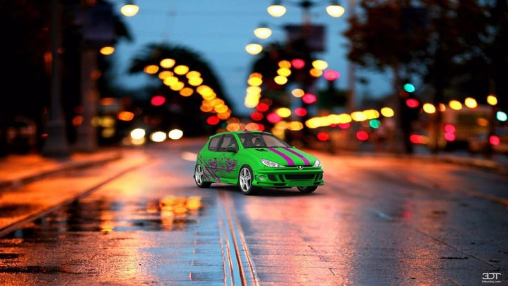 Checkout my tuning #Peugeot 206 1998 at 3DTuning #3dtuning #tuning