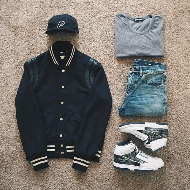 WEBSTA @ ldn2hk - If it ain't Saint Laurent, it's a sin . #outfitgrid…