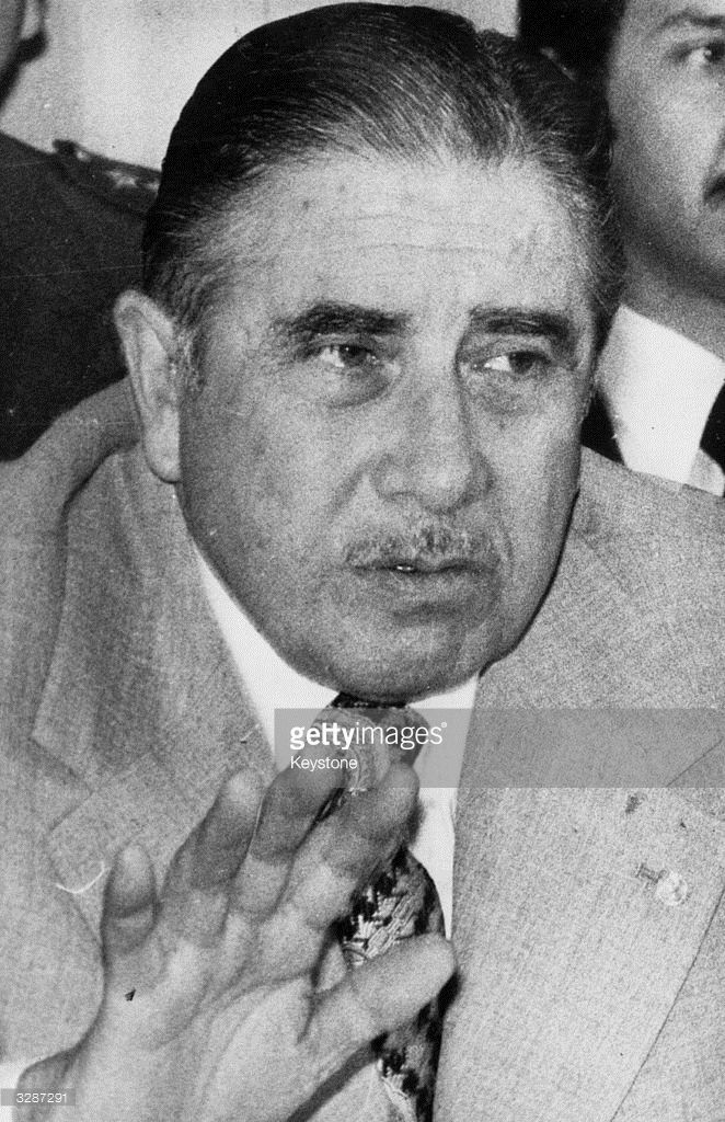 1976: General Augusto Pinochet (1915 - 2006), President of Chile.