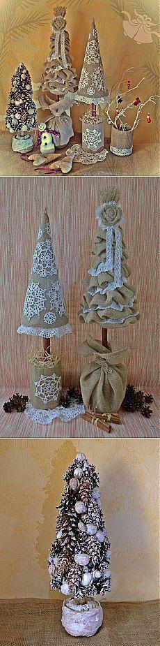 Eco vánoční stromky z re_Nata.