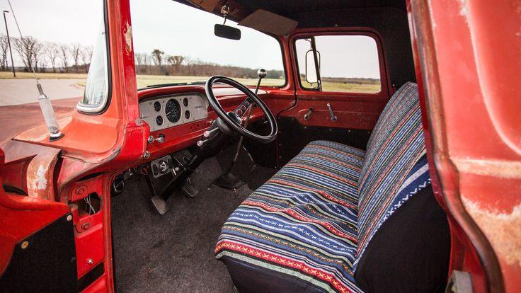 1957 Ford Custom Pickup - 4 - Print Image