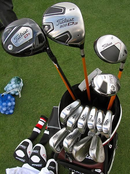 Steve Stricker Titleist Golf Bag
